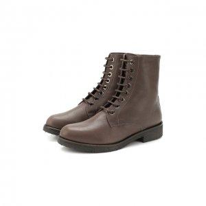 Кожаные ботинки Baldan. Цвет: бежевый
