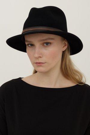 Шляпа федора BAILEY. Цвет: черный