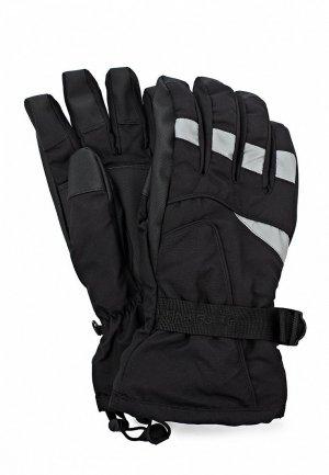 Перчатки горнолыжные Finn Flare FI001DMKU820. Цвет: черный