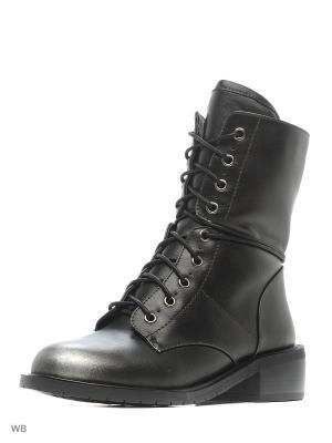 Ботинки Daze. Цвет: черный, бронзовый