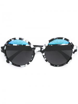 Солнцезащитные очки Adidas x Italia Independent. Цвет: чёрный