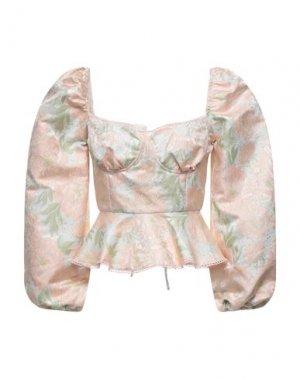 Блузка GLAMOROUS. Цвет: светло-розовый