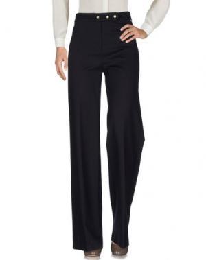 Повседневные брюки ANNARITA N. Цвет: темно-фиолетовый