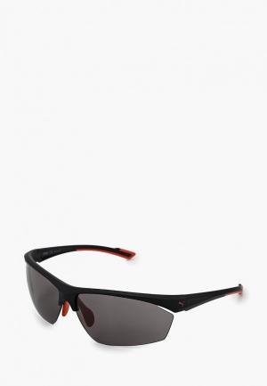 Очки солнцезащитные PUMA PE0041S002. Цвет: черный