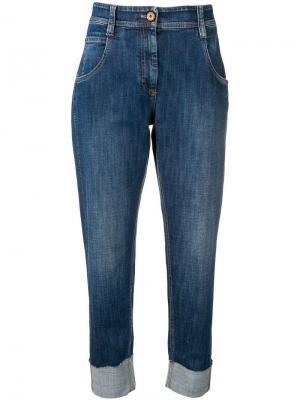 Укороченные зауженные джинсы Brunello Cucinelli