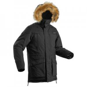 Мужская Утепленная Водонепроницаемая Куртка Для Зимних Походов Sh500 Ultra-warm QUECHUA
