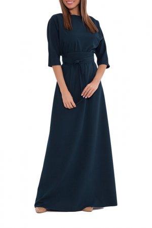 Платье Emansipe. Цвет: темно-изумрудный