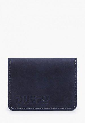Визитница Duffy. Цвет: синий