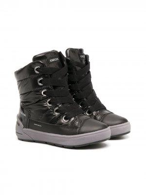 Ботинки Sleigh Abx Geox Kids. Цвет: черный