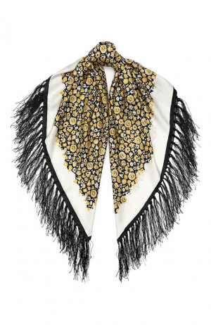 Шелковый платок By Malene Birger. Цвет: разноцветный