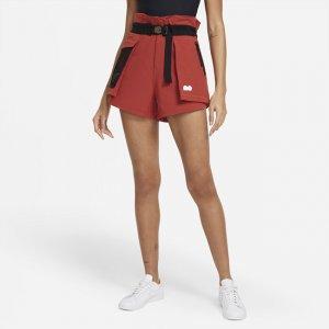 Женские теннисные шорты Naomi Osaka - Красный Nike