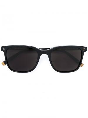 Солнцезащитные очки Travis Moscot. Цвет: чёрный