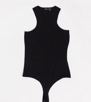 Черное боди в спортивном стиле ASOS DESIGN Tall-Черный Tall
