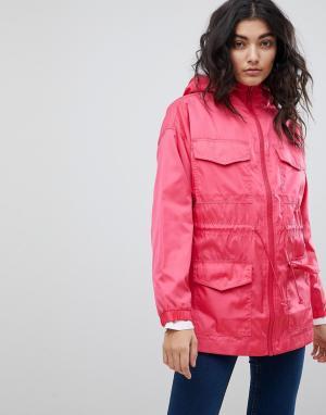 Куртка-дождевик с четырьмя карманами ASOS DESIGN