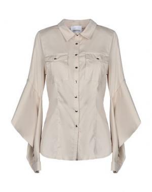 Pубашка ANNARITA N TWENTY 4H. Цвет: бежевый