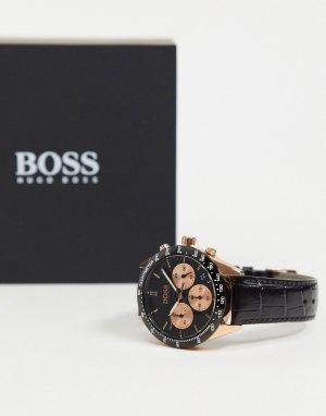Черные часы Boss Talent-Черный