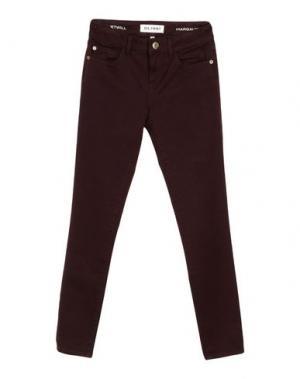 Повседневные брюки DL1961. Цвет: баклажанный