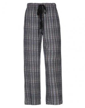 Повседневные брюки LA FABRIQUE. Цвет: темно-синий