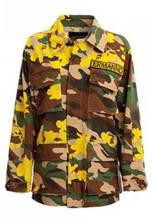 Куртка ERMANNO SCERVINO. Цвет: разноцветный