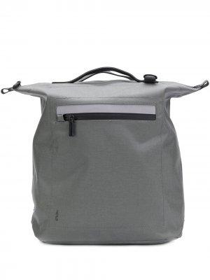 Структурированный рюкзак Ally Capellino. Цвет: серый