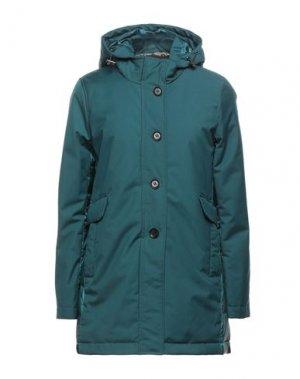 Куртка ADHOC. Цвет: изумрудно-зеленый