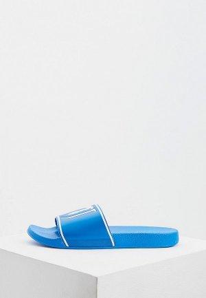 Сланцы Trussardi Jeans. Цвет: синий