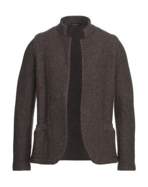 Пиджак ROBERTO COLLINA. Цвет: темно-коричневый