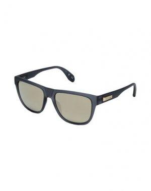 Солнечные очки ADIDAS ORIGINALS. Цвет: стальной серый