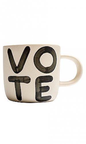 Кружка when we all vote Franca. Цвет: белый