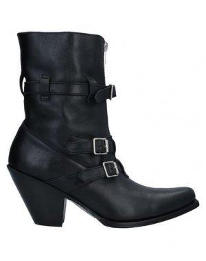 Полусапоги и высокие ботинки CELINE. Цвет: черный
