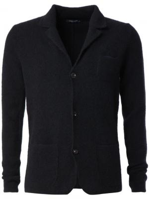 Кардиган в встиле пиджака Roberto Collina. Цвет: чёрный