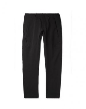 Повседневные брюки ARC'TERYX VEILANCE. Цвет: черный
