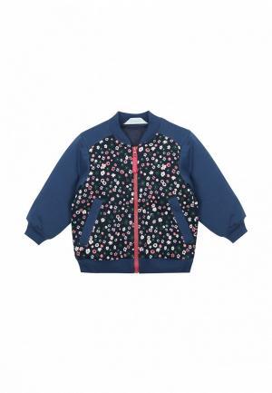 Куртка утепленная Бимоша. Цвет: синий