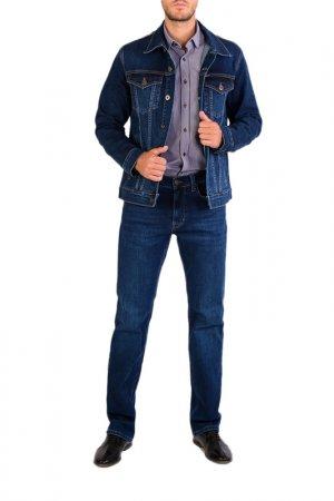 Джинсовая куртка DALLAS. Цвет: темно-синий