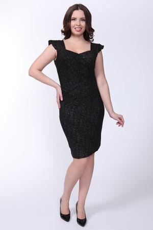 Платье STILS L. Цвет: черный с люрексом