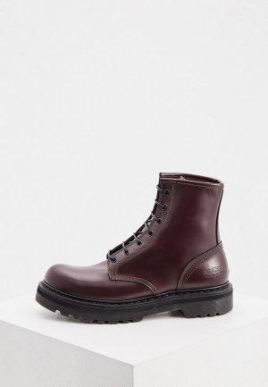 Ботинки Premiata. Цвет: бордовый