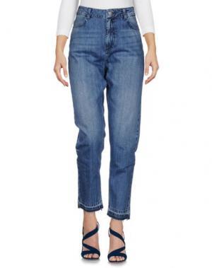 Джинсовые брюки MINIMUM. Цвет: синий