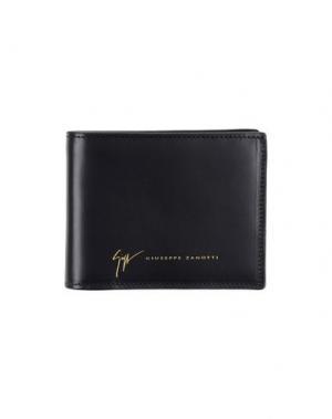 Бумажник GIUSEPPE ZANOTTI DESIGN. Цвет: черный