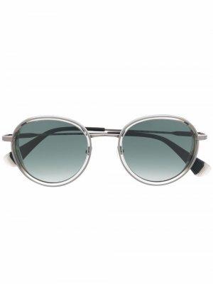 Солнцезащитные очки Brown GIGI STUDIOS. Цвет: коричневый