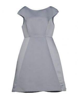 Короткое платье HALSTON. Цвет: небесно-голубой