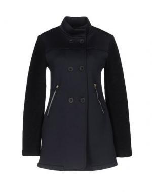 Легкое пальто J BE. Цвет: темно-синий
