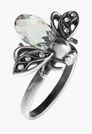 Кольцо Jenavi Цокотуха. Цвет: серебряный