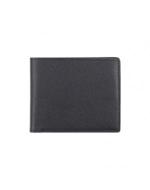 Бумажник TOM FORD. Цвет: черный