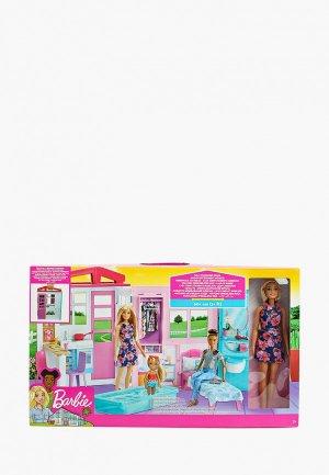 Дом для куклы Barbie Раскладной, 60+ см. Цвет: разноцветный