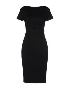Платье миди ESCADA. Цвет: черный
