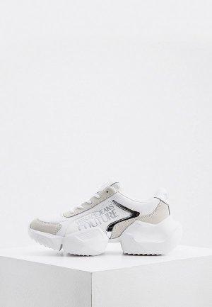 Кроссовки Versace Jeans Couture. Цвет: белый