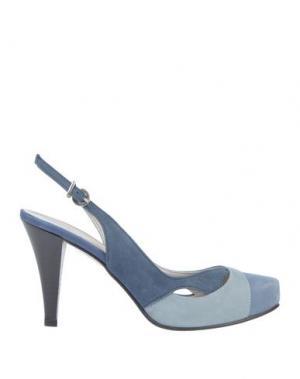 Туфли ALBERTO BRESSAN. Цвет: небесно-голубой