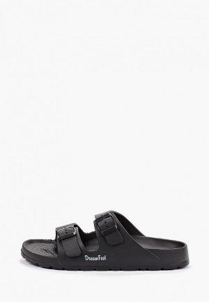 Сланцы Dream Feet. Цвет: черный