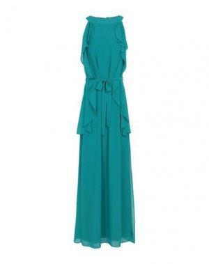 Длинное платье H2O ITALIA. Цвет: цвет морской волны