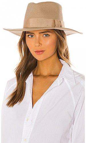 Шляпа joanna Brixton. Цвет: nude